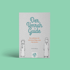 """Image from the cover of the book """"The Umrah Guide"""" - A guide for the short pilgrimage"""