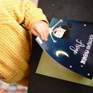 The first personalized Islamic children's book in German in action